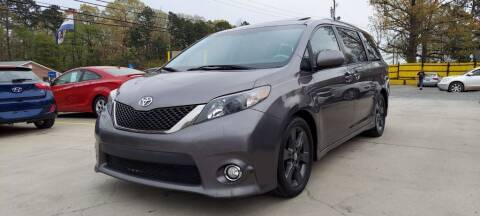 2011 Toyota Sienna for sale at DADA AUTO INC in Monroe NC