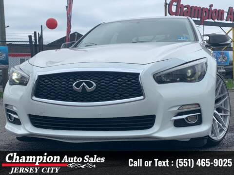 2014 Infiniti Q50 for sale at CHAMPION AUTO SALES OF JERSEY CITY in Jersey City NJ