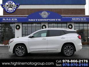 2020 GMC Terrain for sale at Highline Group Motorsports in Lowell MA