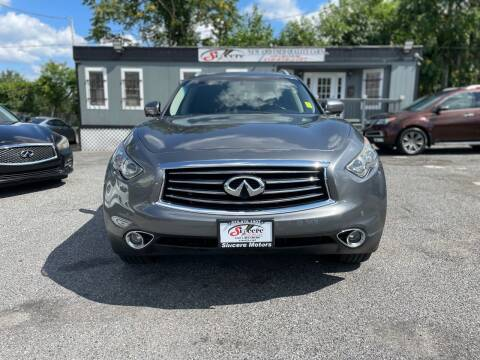 2014 Infiniti QX70 for sale at Sincere Motors LLC in Baltimore MD