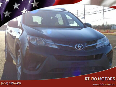 2013 Toyota RAV4 for sale at RT 130 Motors in Burlington NJ