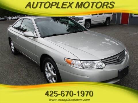 2002 Toyota Camry Solara for sale at Autoplex Motors in Lynnwood WA
