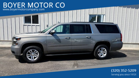 2019 Chevrolet Suburban for sale at BOYER MOTOR CO in Sauk Centre MN