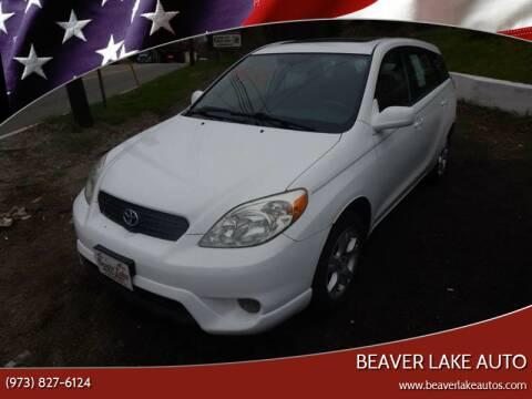 2005 Toyota Matrix for sale at Beaver Lake Auto in Franklin NJ