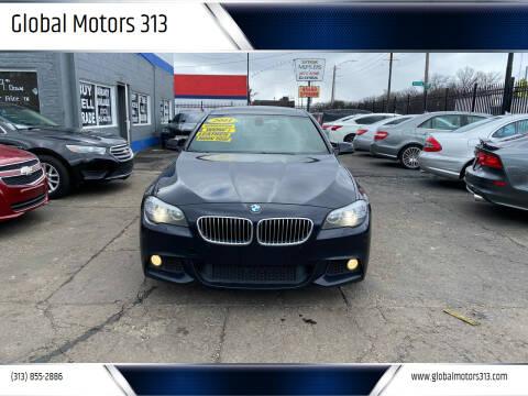 2011 BMW 5 Series for sale at Global Motors 313 in Detroit MI