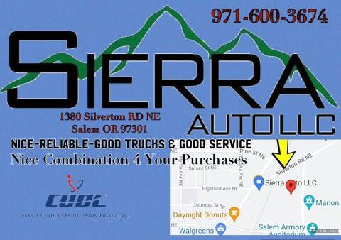 2005 Ford F-150 for sale at SIERRA AUTO LLC in Salem OR