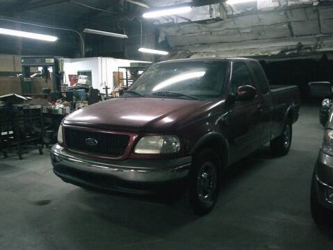 2002 Ford F-150 for sale at MICHAEL J'S AUTO SALES in Cleves OH