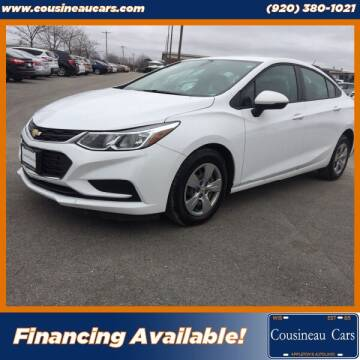 2018 Chevrolet Cruze for sale at CousineauCars.com in Appleton WI