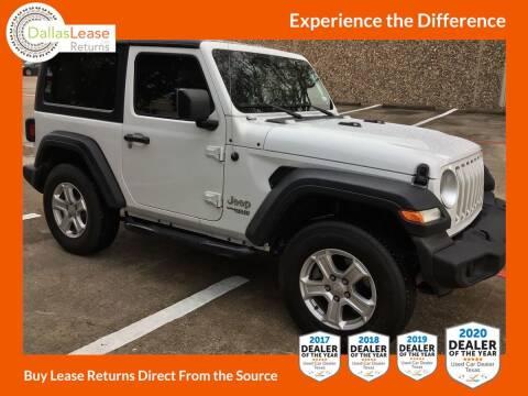 2018 Jeep Wrangler for sale at Dallas Auto Finance in Dallas TX