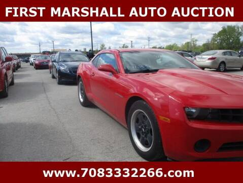 2011 Chevrolet Camaro for sale at First Marshall Auto Auction in Harvey IL