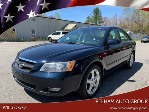 2007 Hyundai Sonata for sale at Pelham Auto Group in Pelham NH
