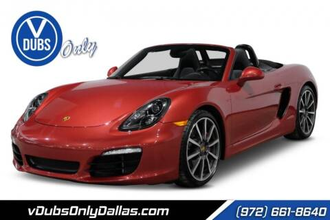 2013 Porsche Boxster for sale at VDUBS ONLY in Dallas TX