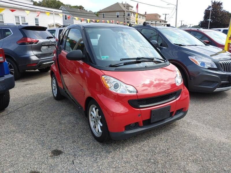 2009 Smart fortwo for sale at Porcelli Auto Sales in West Warwick RI