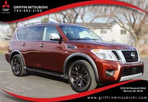 2017 Nissan Armada for sale at Griffin Mitsubishi in Monroe NC