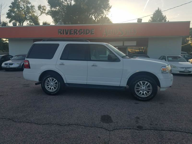 2012 Ford Expedition for sale at RIVERSIDE AUTO SALES in Sioux City IA