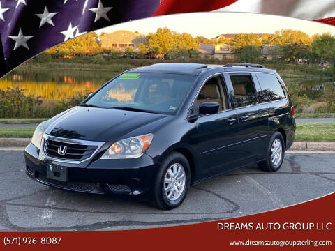 2009 Honda Odyssey for sale at Dreams Auto Group LLC in Sterling VA