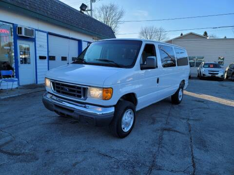 2007 Ford E-Series Wagon for sale at MOE MOTORS LLC in South Milwaukee WI