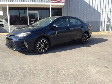 2019 Toyota Corolla for sale at Darryl's Trenton Auto Sales in Trenton TN