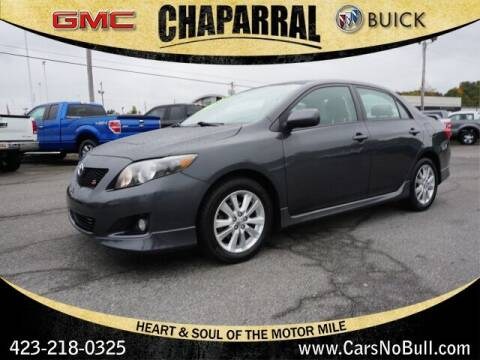 2009 Toyota Corolla for sale at CHAPARRAL USED CARS in Piney Flats TN
