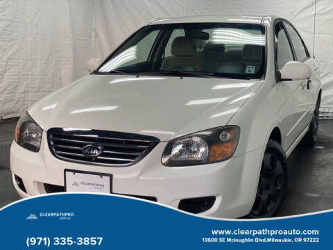 2009 Kia Spectra for sale at CLEARPATHPRO AUTO in Milwaukie OR