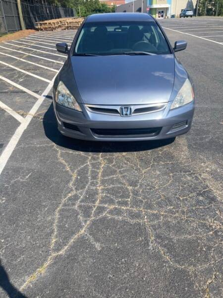 2006 Honda Accord for sale at Unity Auto Sales Inc in Charlotte NC