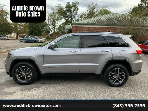2018 Jeep Grand Cherokee for sale at Auddie Brown Auto Sales in Kingstree SC
