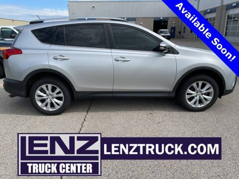 2013 Toyota RAV4 for sale at LENZ TRUCK CENTER in Fond Du Lac WI