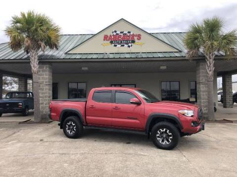 2019 Toyota Tacoma for sale at Rabeaux's Auto Sales in Lafayette LA
