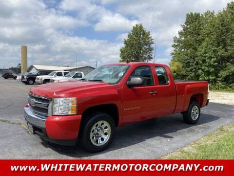 2008 Chevrolet Silverado 1500 for sale at WHITEWATER MOTOR CO in Milan IN