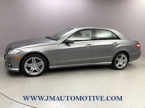 2010 Mercedes-Benz E-Class for sale at J & M Automotive in Naugatuck CT