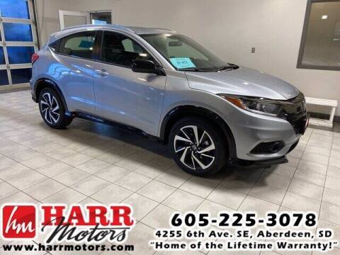 2020 Honda HR-V for sale at Harr's Redfield Ford in Redfield SD