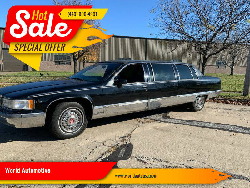 1993 Cadillac Fleetwood for sale at World Automotive in Euclid OH