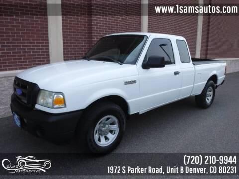 2008 Ford Ranger for sale at SAM'S AUTOMOTIVE in Denver CO
