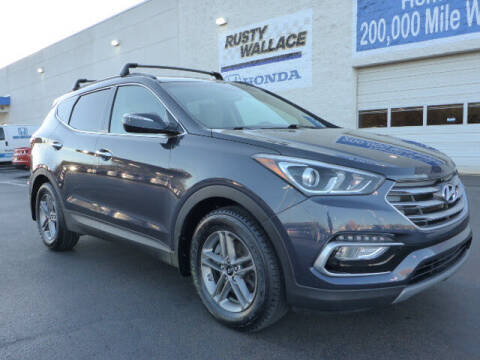 2018 Hyundai Santa Fe Sport for sale at RUSTY WALLACE HONDA in Knoxville TN