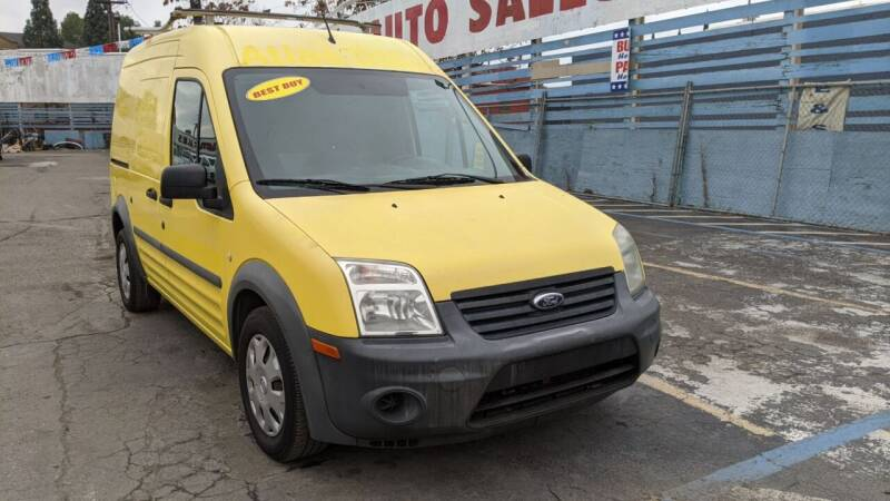 2012 Ford Transit Connect for sale at Best Deal Auto Sales in Stockton CA