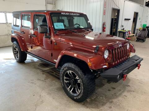 2008 Jeep Wrangler Unlimited for sale at Premier Auto in Sioux Falls SD