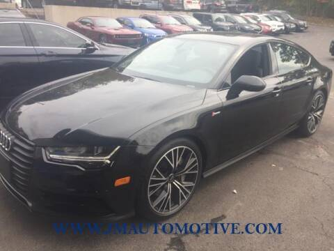2018 Audi A7 for sale at J & M Automotive in Naugatuck CT