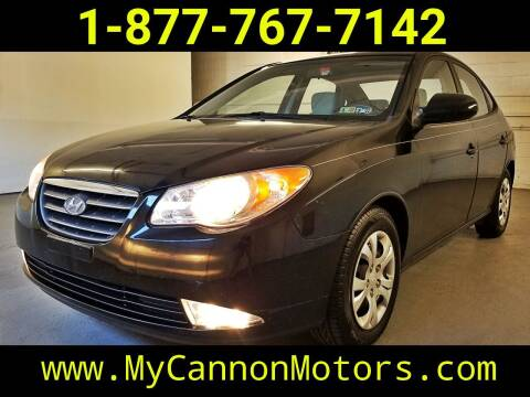 2009 Hyundai Elantra for sale at Cannon Motors in Silverdale PA
