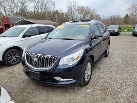 2016 Buick Enclave for sale at Clare Auto Sales, Inc. in Clare MI