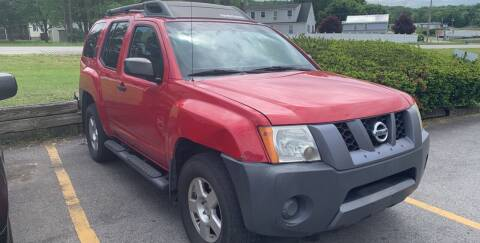 2008 Nissan Xterra for sale at BURNWORTH AUTO INC in Windber PA