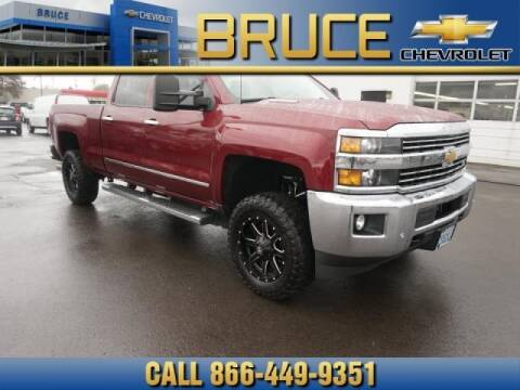 2015 Chevrolet Silverado 3500HD for sale at Medium Duty Trucks at Bruce Chevrolet in Hillsboro OR