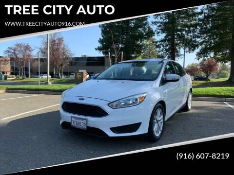 2016 Ford Focus for sale at TREE CITY AUTO in Rancho Cordova CA