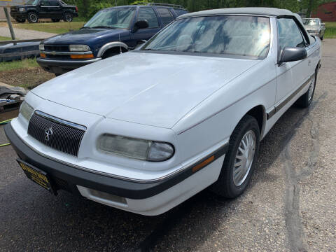 1993 Chrysler Le Baron for sale at 51 Auto Sales Ltd in Portage WI