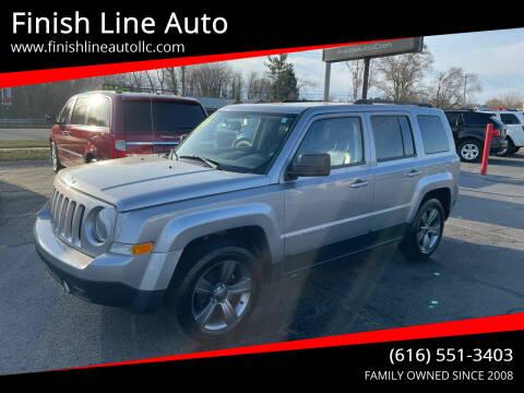 2014 Jeep Patriot for sale at Finish Line Auto in Comstock Park MI