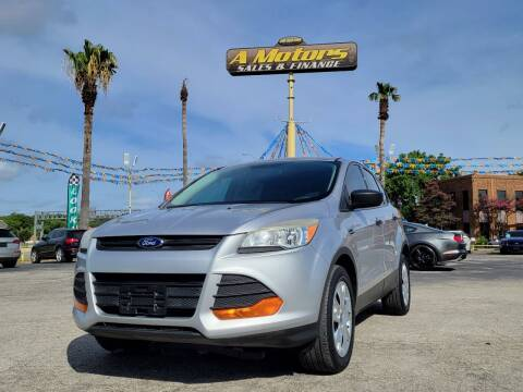 2013 Ford Escape for sale at A MOTORS SALES AND FINANCE in San Antonio TX