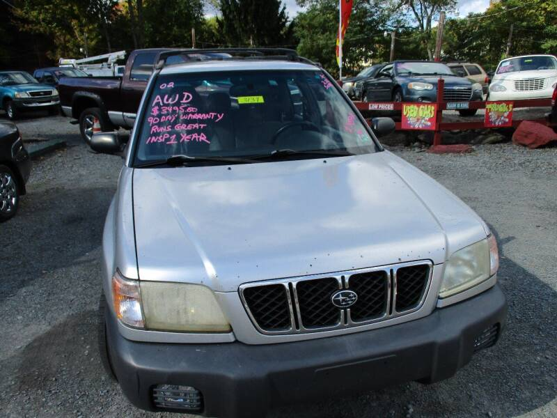 2002 Subaru Forester for sale at FERNWOOD AUTO SALES in Nicholson PA