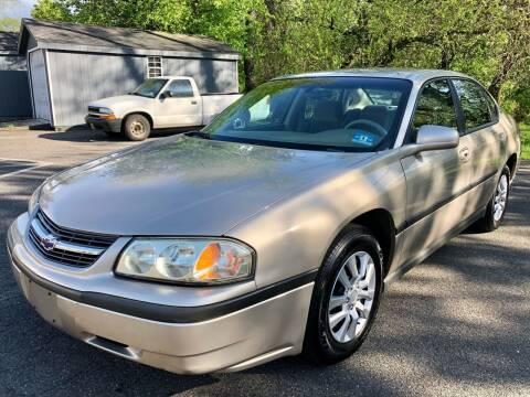2003 Chevrolet Impala for sale at Perfect Choice Auto in Trenton NJ