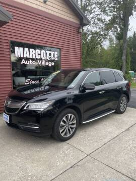 2014 Acura MDX for sale at Marcotte & Sons Auto Village in North Ferrisburgh VT