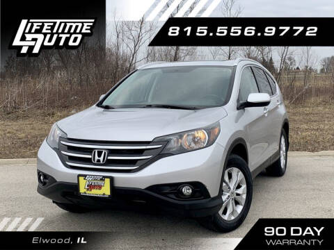 2013 Honda CR-V for sale at Lifetime Auto in Elwood IL
