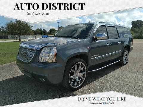 2007 GMC Yukon XL for sale at Auto District in Baytown TX